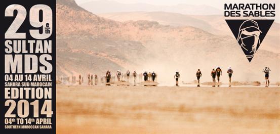 The mighty Marathon Des Sables