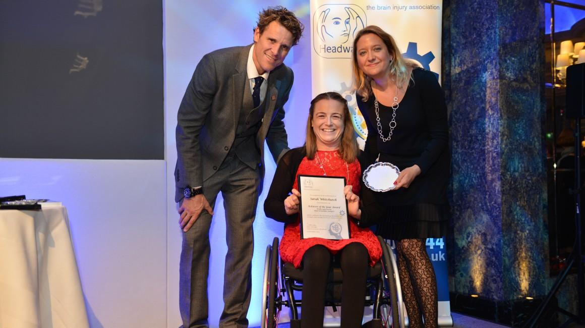 Sarah wins National Award